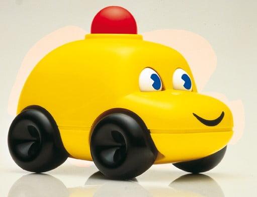 speelgoedauto geel ambitoys
