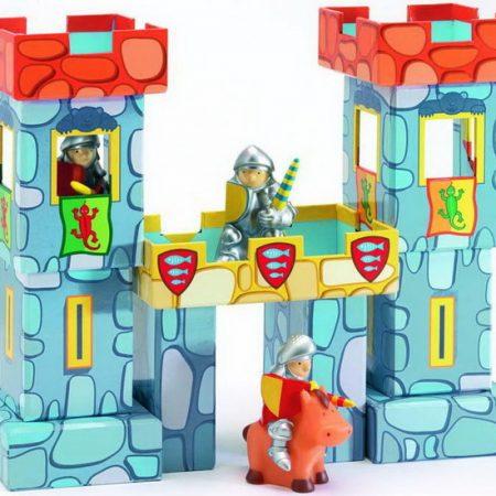 Speegoedkasteel bouwblokken Djeco