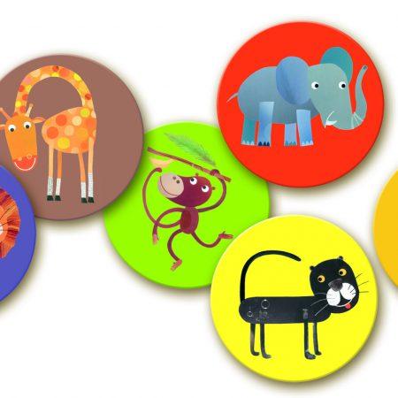 Kinderspel memory dieren Djeco