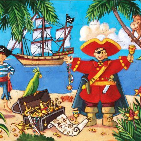 Puzzel piraat Djeco