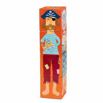 Stapelblokken piraat Djeco