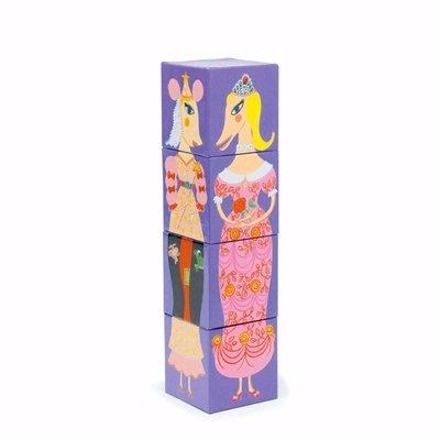 Stapelblokken prinses Djeco
