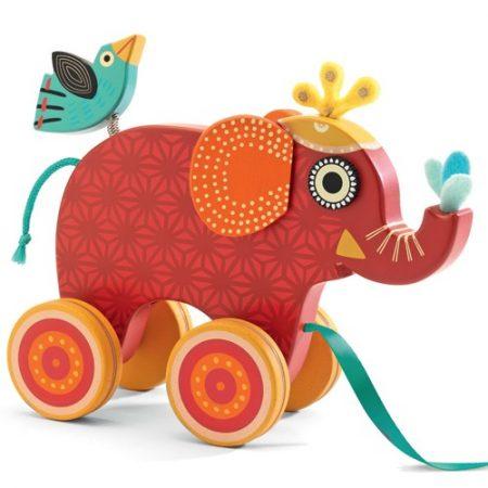 Trekolifant Indy Djeco