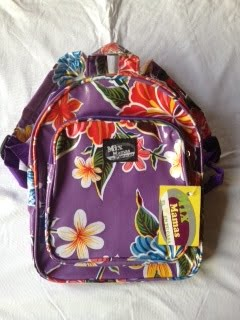 Kinderrugzak Mix mama paars bloemen