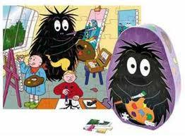 kinderpuzzel barbapapa