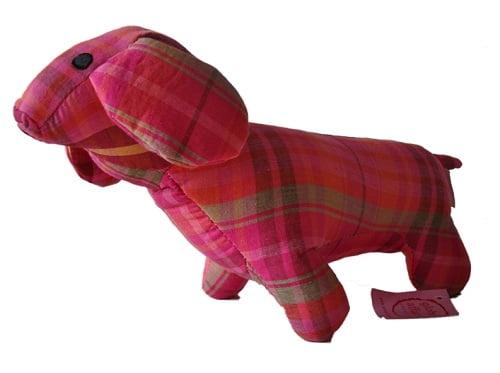 knuffeldier hondje roze global affairs