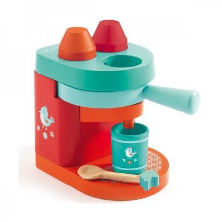 kinder koffiezet-apparaat djeco