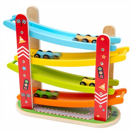 Auto racebaan Bigjigs toys