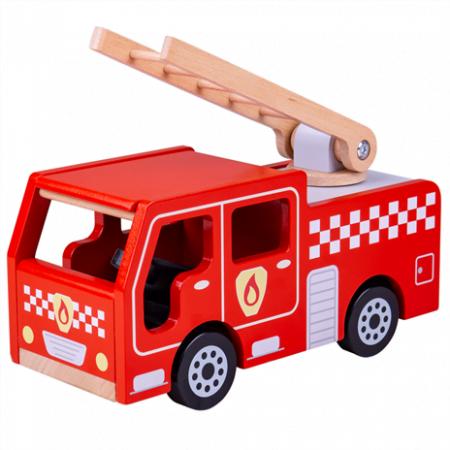 Brandweerauto Bigjigs toys
